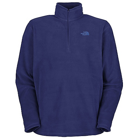 On Sale. Free Shipping. The North Face Men's TKA 100 Microvelour Glacier 1-4 Zip DECENT FEATURES of The North Face Men's TKA 100 Microvelour Glacier 1/4 Zip Unique microfibers ensure durability and a soft hand feel Reverse-coil zip at neck opening Flat-locked stitching for durability and reduced abrasion The SPECS Average Weight: 10 oz / 270 g Center Back Length: 28in. 150 g/m2 (5.29 oz/yd2) 100% polyester Polartec Classic 100 Micro (bluesign approved fabric) This product can only be shipped within the United States. Please don't hate us. - $43.99