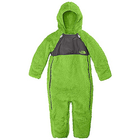 On Sale. Free Shipping. The North Face Infant Plushee Fleece Bunting DECENT FEATURES of The North Face Infant Plushee Fleece Bunting Double full zip closure Taffeta overlay for spill management Fold over cuffs and booties Taffeta sleeve lining for easy arm entry Embroidered logo at center front Imported The SPECS Average Weight: 14.11 oz / 400 g Center Back Length: 27in. Body: 150D 350 g/m2 100% polyester Sharpe fleece Overlay: 50D 76 g/m2 100% recycled polyester taffeta with DWR This product can only be shipped within the United States. Please don't hate us. - $51.99