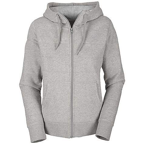 Free Shipping. The North Face Women's Belle Raschel Full Zip Hoodie DECENT FEATURES of The North Face Women's Belle Raschel Full Zip Hoodie Soft, comfortable, easy-care fabric Raschel fleece lining throughout body and hood Kangaroo hand pockets Embroidered logo at left chest and back right shoulder The SPECS Average Weight: 25.6 oz / 725 g Center Back Length: 26in. Body: 280 g/m2 80% cotton, 20% polyester fleece Lining: 205 g/m2 100% polyester raschel fleece This product can only be shipped within the United States. Please don't hate us. - $94.95