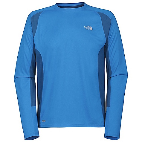 On Sale. The North Face Men's GTD LS Shirt DECENT FEATURES of The North Face Men's GTD Long Sleeve Shirt Layered venting system Natural wicking properties, anti-odor, ultraviolet protection factor (UPF) Body-mapped ventilation Reflective logos Imported The SPECS Body: 105 g/m2 (3.1 oz/yd2) 53% polyester, 40% Minerale polyester closed hole mesh-wicking Mesh Panel: 124 g/m2 (3.7 oz/yd2) 100% polyester jacquard mesh This product can only be shipped within the United States. Please don't hate us. - $29.99
