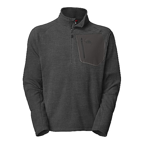 Free Shipping. The North Face Men's TKA 100 Trinity Alps DECENT FEATURES of The North Face Men's TKA 100 Trinity Alps Lightweight mid-layer fleece for yearround versatility Napoleon chest pocket with secure-zip Four-needle flat-locked stitching for durability and reduced abrasion Reverse-coil zip at neck opening Raglan sleeves TNF Apex chest pocket with infused zip The SPECS Average Weight: 10 oz / 270 g Center Back Length: 27.5in. 160 g/m2 (5.64 oz/yd2) 100% polyester Polartec micro-fleece (bluesign approved fabric) This product can only be shipped within the United States. Please don't hate us. - $64.95