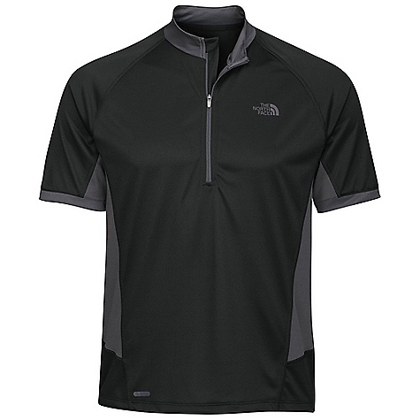 Entertainment On Sale. Free Shipping. The North Face Men's Captain Ten Speed Jersey DECENT FEATURES of The North Face Men's Captain Ten Speed Jersey Quarter-zip jersey Meshventing panels at sides and center back Sunglasses wipe sewn into hem Back zip security pocket Reflective logos Elliptical hem Ultraviolet Protection Factor (UPF) 30 Mesh-venting panels at sides and center back Imported The SPECS Average Weight: 6.7 oz / 190 g Center Back Length: 27.75in. 142 g/m2 (4.19 oz/yd2) 100% polyester double knit, wicking finish This product can only be shipped within the United States. Please don't hate us. - $29.99