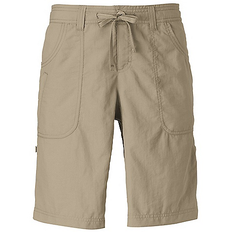 On Sale. Free Shipping. The North Face Women's Horizon Sunnyside Short DECENT FEATURES of The North Face Women's Horizon Sunnyside Short Durable, lightweight, abrasion-resistant nylon QuickDry Drawcord with button-fly closure Two hand pockets Two rear patch pockets Crotch gusset Stowpocket feature Relaxed fit Ultraviolet Protection Factor (UPF) 30 The SPECS Average Weight: 7 oz / 190 g Inseam: regular 5in. 70D 113 g/m2 (3.98 oz/yd2) 100% nylon woven with ripstop This product can only be shipped within the United States. Please don't hate us. - $19.99