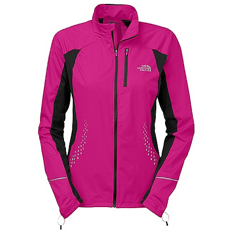 Free Shipping. The North Face Women's Apex Lite Jacket DECENT FEATURES of The North Face Women's Apex Lite Jacket Shaped collar Chest pocket Mesh ventilation Reflectivity Body mapped ventilation Cuff articulation MP3-compatible cord hole in pocket Reflective logos The SPECS Center Back Length: 25.75in. Body: 90 g/m2 100% polyester knit with Flash Dry Panel: 53 g/m2 100% polyester woven ripstop 140 g 90% polyester, 10% elastane mesh This product can only be shipped within the United States. Please don't hate us. - $129.95