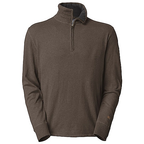 On Sale. Free Shipping. The North Face Men's Mt. Tam 1-4 Zip Sweater DECENT FEATURES of The North Face Men's Mt. Tam 1/4 Zip Sweater Zipped rib mock-neck Fleece facing at collar Rib at cuffs, placket and hem Logo patch at cuff The SPECS Average Weight: 13 oz / 354 g Center Back Length: 27.25in. 12 gauge 50% cotton 40% wool 10% nylon sweater knit This product can only be shipped within the United States. Please don't hate us. - $44.99