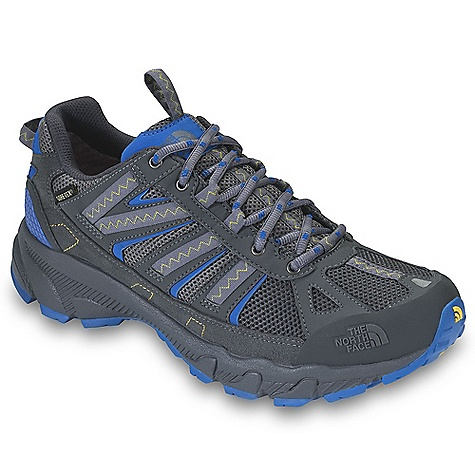 Free Shipping. The North Face Men's Ultra 50 GTX XCR DECENT FEATURES of The North Face Men's Ultra 50 GTX XCR Upper: Gore-Tex Extended Comfort Range waterproof, breathable membrane Breathable mesh Synthetic and webbing upper Protective TPU toe cap Compression-molded EVA midsole ESS midfoot shank UltrATAC rubber outsole The SPECS Approx Weight: 1/2 pair: 12.5 oz / 356 g, pair: 1 lb 9 oz / 712 g This product can only be shipped within the United States. Please don't hate us. - $109.95