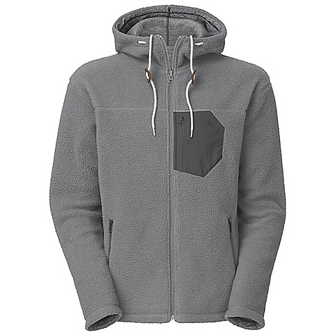 On Sale. Free Shipping. The North Face Men's Reversible Carnosa Full Zip Hoodie DECENT FEATURES of The North Face Men's Reversible Carnosa Full Zip Hoodie Hood with drawstring closure and faux leather toggles Zippered side-entry hand pockets on Sherpa side Overlay hand pockets on jersey side Cover stitch seams on both sides Napoleon pocket in contrast Taslan overlay Imported The SPECS Average Weight: 32 oz / 900 g Center Back Length: 27.5in. Body: 340 g/m2 100% polyester Sherpa fleece Lining: 330 g/m2 100% cotton This product can only be shipped within the United States. Please don't hate us. - $89.99