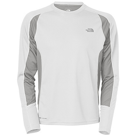 On Sale. The North Face Men's GTD L-S DECENT FEATURES of The North Face Men's Long Sleeve GTD Natural wicking properties and anti-odor, ultraviolet protection system Body-mapped ventilation Reflective logos The SPECS Average Weight: 4.9 oz Center Back Length: 27in. Body: 105 g/m2 (3.1 oz/yd2) 53% polyester, 47% polyester closed-hole mesh with Flash Dry fiber-wicking Mesh Panel: 140 g/m2 (3.7 oz/yd2) 100% polyester circular mesh This product can only be shipped within the United States. Please don't hate us. - $30.99
