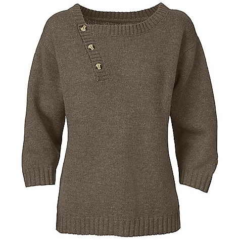 On Sale. Free Shipping. The North Face Women's Willow Grove Sweater DECENT FEATURES of The North Face Women's Willow Grove Sweater Dolman sleeves Asymmetrical center front placket Faux wood buttons on collar 2x2 ribbing on cuff, hem and collar Three-quarter-length sleeves Faux leather logo tab at left cuff The SPECS Average Weight: 14 oz / 387 g Center Back Length: 22.75in. 55% wool 30% nylon 15% viscose heather sweater knit This product can only be shipped within the United States. Please don't hate us. - $40.99