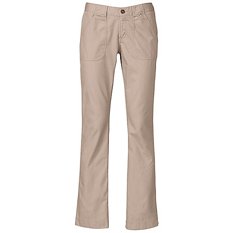 Free Shipping. The North Face Women's Lupine Bootcut Pant DECENT FEATURES of The North Face Women's Lupine Bootcut Pant Wooden button center front closure with zip-fly Surplus hand pockets Triple-needle inseams and side seams Patch pockets at rear Woven label at inside waistband Logo swing label The SPECS Average Weight: 14 oz / 400 g Inseam: short: 30in., regular: 32in., long: 34in. Body: 185 g/m2 (5.5 oz/yd2) 100% cotton twill Finish: Enzyme wash, sand wash This product can only be shipped within the United States. Please don't hate us. - $69.95