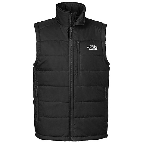 Free Shipping. The North Face Men's Redpoint Vest DECENT FEATURES of The North Face Men's Redpoint Vest Napoleon chest pocket Two secure zip hand pockets Hem cinch-cord Zip-in compatible integration with complementing garments from The North Face The SPECS Average Weight: 13.76 oz / 390 g Center Back Length: 27.5in. Body: 30D 54 g/m2 (1.566 oz/yd2) 100% nylon Insulation: PrimaLoft Eco 133 g This product can only be shipped within the United States. Please don't hate us. - $99.00
