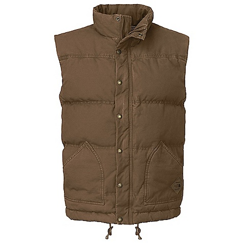On Sale. Free Shipping. The North Face Men's Newtok Down Vest DECENT FEATURES of The North Face Men's Newtok Down Vest Quilted body Adjustable drawcord system at hem with faux leather cord adjusters Overlay pockets Internal patch pocket Locker loop at center back neck Faux leather logo patch at left pocket Imported The SPECS Average Weight: 38.8 oz / 1100 g Center Back Length: 27.75in. Body: 295 g/m2 100% cotton canvas Finish: Enzyme washed, resin washed Lining: 100% cotton yarn-dyed plaid flannel Insulation: 550 fill down This product can only be shipped within the United States. Please don't hate us. - $118.99