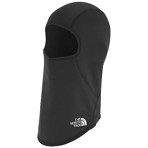 The North Face Corefire Balaclava DECENT FEATURES of The North Face Corefire Balaclava Two sizes Ergonomic paneling Packable Lightweight Embroidered logo The SPECS 84% polyester 16% elastane fleece This product can only be shipped within the United States. Please don't hate us. - $39.95