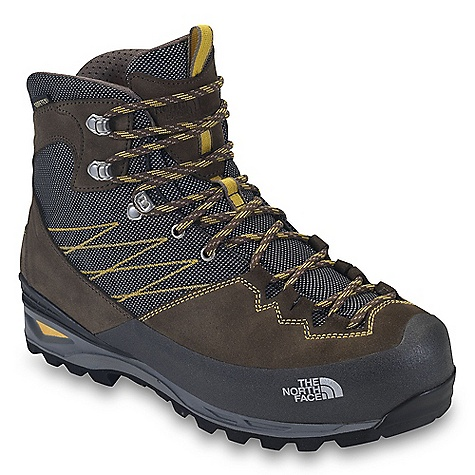 Camp and Hike Free Shipping. The North Face Women's Verbera Lightpacker GTX Boot DECENT FEATURES of The North Face Women's Verbera Lightpacker GTX Boot Upper: Gore-Tex waterproof, breathable membrane Suede leather upper with Panatex ballistic textile Stainless steel upper eyelets and locking instep eyelet Northotic Pro+ premium EVA footbed with gel heel and OrthoLite forefoot-cushioning pads and TPU Cradle support Bottom: TPU Cradle heel-stability technology Three-part, co-molded midsole including Cradle technology Agile PU body and EVA heel cushioning Vibram Masai outsole Polypropylene lasting board The SPECS Last: L/TNF-S12-06 Approx Weight: 1/2 pair: 1 lb 4 oz / 556 g, pair: 2 lbs 8 oz / 1112 g This product can only be shipped within the United States. Please don't hate us. - $224.95