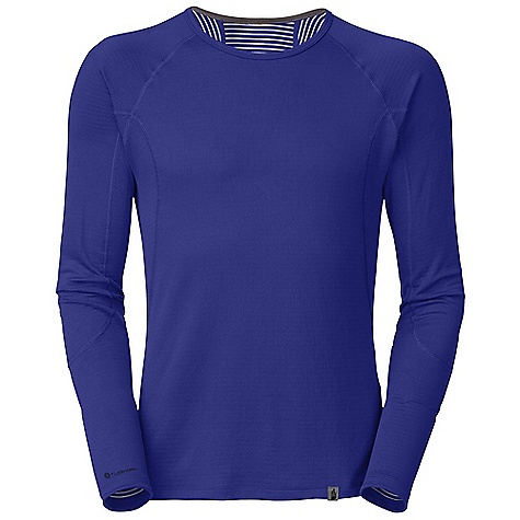 Free Shipping. The North Face Men's Warm L-S Crew Neck DECENT FEATURES of The North Face Men's Warm Long Sleeve Crew Neck Crew neck Flat-locked seams Logo tag Imported The SPECS Average Weight: 6.7 oz / 190 g Center Back Length: 28.5in. 170 g/m2 88% polyester 12% polyolefin two-layer hi-mechanical stretch double knit with FlashDry fiber This product can only be shipped within the United States. Please don't hate us. - $49.95