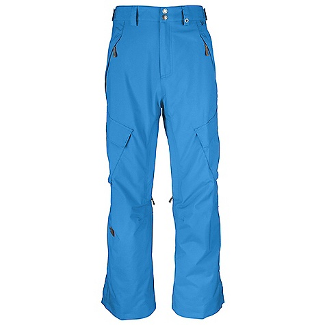 On Sale. Free Shipping. The North Face Men's Slasher Cargo Pant DECENT FEATURES of The North Face Men's Slasher Cargo Pant Adjustable waist tabs Zip handwarmer pockets Flap cargo pockets with Lot Lift System Zip inner thigh vents with mesh gussets Back pockets Gaiter with gripper elastic and boot hook Snap-cuff gussets Reinforced edge guards Imported The SPECS Average Weight: 28.92 oz / 820 g Inseam: regular: 31in., long: 33in. Shell: HyVent 2L proweave Lining: Thermoliner seat and knees, mesh This product can only be shipped within the United States. Please don't hate us. - $94.99