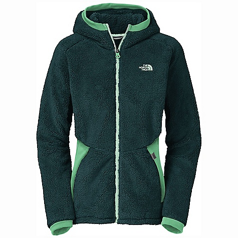 On Sale. Free Shipping. The North Face Women's Pemba Hoodie DECENT FEATURES of The North Face Women's Pemba Hoodie High loft body-mapped fleece to keep your core warm Stretch side paneling Underarms with stretch Two secure zip hand pockets Three-color Vislon front zip The SPECS Average Weight: 17.63 oz / 500 g Center Back Length: 26.5in. Body: 330 g/m2 (9.57 oz/yd2) 100% polyester high loft Sherpa fleece Stretch Panels: 275 g/m2 (7.975 oz/yd2) 55% nylon, 40% polyester, 5% elastane hard face stretch fleece This product can only be shipped within the United States. Please don't hate us. - $78.99