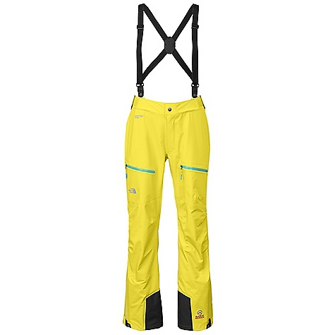 Free Shipping. The North Face Women's Zero Pant DECENT FEATURES of The North Face Women's Zero Pant Tough, breathable, waterproof, seamtaped Gore-Tex Pro Shell Low-profile, removable front point suspenders are sleek and unobtrusive Full-length, two-way leg zips ease use and venting Keprotec super tough kick patch and integrated gaiter Low-profile twin thigh pockets are generous and easy to access The SPECS Average Weight: 1 lb 6 oz / 630 g Inseam: regular 40D 100% nylon 113 g/m2 (3.28 oz/yd2) Gore-Tex Pro Shell This product can only be shipped within the United States. Please don't hate us. - $399.00