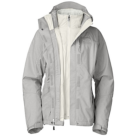 On Sale. Free Shipping. The North Face Women's Aphelion Triclimate Jacket DECENT FEATURES of The North Face Women's Aphelion Triclimate Jacket Waterproof, breathable, seam sealed Zip-in compatible integration with complementing garments for The North Face Fully adjustable, removable hood Center front zip and Velcro closure with storm flap Pit-zip vents Two secure zip hand pockets Self fabric cuff tabs Hem cinch-cord (Triclimate) 120 g Heat seeker insulation lined with Silken fleece Two secure zip hand pockets Hem cinch-cord Imported The SPECS Average Weight: 48.01 oz / 1361 g Center Back Length: 27.5in. Body: 70D 122 g/m2 (3.538 oz/yd2) 100% nylon Hyvent 2L Triclimate: 100 g Heat seeker in body, 80 g Heat seeker sleeves and collar This product can only be shipped within the United States. Please don't hate us. - $223.99