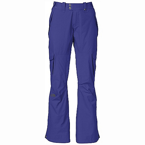 On Sale. Free Shipping. The North Face Women's Go Go Cargo Pant DECENT FEATURES of The North Face Women's Go Go Cargo Pant Slim fit Waterproof, breathable, fully seam sealed Adjustable waist tabs Back pockets with clip-in integration Zip hand pockets Flap cargo pockets with the Lot Lift System Back pockets Zip inner-thigh vents with mesh gussets Flap back pockets Chimney Venting system Stretch gaiter with gripper elastic and boot hook Inseam snap-cuff gussets Internal reinforced edge guards The SPECS Average Weight: 24.34 oz / 690 g Inseam: short: 30in., regular: 32in., long: 34in. Shell: 75D 162 g/m2 HyVent 2L-100% polyester twill Lining: Taffeta, brushed tricot Insulation: 60 g Heatseeker This product can only be shipped within the United States. Please don't hate us. - $134.99