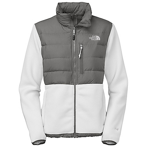 On Sale. Free Shipping. The North Face Women's Denali Down Jacket DECENT FEATURES of The North Face Women's Denali Down Jacket Zip-in-compatible integration with complementing garments from The North Face Abrasion-reinforced shoulders and chest Secure Napoleon pocket Two secure-zip hand pockets Elastic-bound cuffs Media pocket Hem cinch-cord The SPECS Average Weight: 22.58 oz / 640 g Center Back Length: 26in. Body: 333 g/m2 (9.82 oz/yd2) 100% recycled polyester Polartec 300 weight Panel: 40D 56 g/m2 (1.65 oz/yd2) 100% nylon Insulation: 550 fill goose down This product can only be shipped within the United States. Please don't hate us. - $128.99
