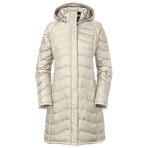 On Sale. Free Shipping. The North Face Women's Avenue Parka DECENT FEATURES of The North Face Women's Avenue Parka Flattering quilting Zippered hand warmer pockets Adjustable and removable hood Center front zip with snap-down closure Internal security pocket Embroidered logo at left chest and back right shoulder The SPECS Average Weight: 23.3 oz / 660 g Center Back Length: 38in. Body: 50D 77 g/m2 100% polyester plain weave with DWR Insulation: 600 fill down This product can only be shipped within the United States. Please don't hate us. - $255.99