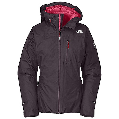 On Sale. Free Shipping. The North Face Women's Glitchin Down Jacket DECENT FEATURES of The North Face Women's Glitchin Down Jacket Waterproof, breathable HyVent Alpha shell is light, stout and dependable 800 fill Eastern European down offers superior warmth yet remains extremely compressible Thick, warm draft yoke around neck and shoulders seals cold out and warmth in Sleek, fixed, fully adjustable helmet-compatible hood swivels with head for a natural, unobstructed view Pre-cinched cuffs, hidden hem cinch accessible from hand warmer pockets One large interior pocket fits a liter water bottle Large zip interior pocket doubles as stuffsack Imported The SPECS Average Weight: 1 lb 4 oz / 580 g Center Back Length: 28in. 15D 100% nylon 53 g/m2 (1.54 oz/yd2) HyVent Alpha shell This product can only be shipped within the United States. Please don't hate us. - $358.99