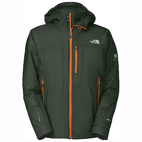On Sale. Free Shipping. The North Face Men's Glitchin Down Jacket DECENT FEATURES of The North Face Men's Glitchin Down Jacket Waterproof, breathable HyVent Alpha shell is light, stout and dependable 800 fill Eastern European down offers superior warmth yet remains extremely compressible Thick, warm draft yoke around neck and shoulders seals cold out and warmth in Sleek, fixed, fully adjustable helmet-compatible hood swivels with head for a natural, unobstructed view Pre-cinched cuffs, hidden hem cinch accessible from hand warmer pockets One large interior pocket fits a liter water bottle Large zip interior pocket doubles as stuffsack Imported The SPECS Average Weight: 1 lb 11 oz / 775 g Center Back Length: 29in. 15D 100% nylon 53 g/m2 (1.54 oz/yd) HyVent Alpha shell This product can only be shipped within the United States. Please don't hate us. - $335.99