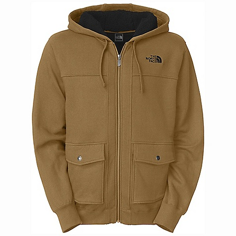 On Sale. Free Shipping. The North Face Men's Ghost Tree Hoodie DECENT FEATURES of The North Face Men's Ghost Tree Hoodie Cargo hand pockets The SPECS Average Weight: 31.75 oz / 900 g Center Back Length: 27.75in. Shell: 280 g/m2 65% cotton, 35% polyester heathered CVC fleece, rib-knit cuff and hem Insulation: Sherpa fleece This product can only be shipped within the United States. Please don't hate us. - $70.99
