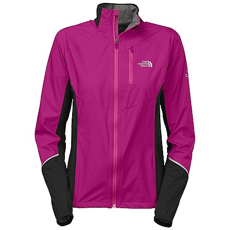 Camp and Hike Free Shipping. The North Face Women's Stormy Trail Jacket DECENT FEATURES of The North Face Women's Stormy Trail Jacket Chest pocket Reflectivity Hem cinch Stowable MP3 cord hole in pocket Imported The SPECS Average Weight: 7.4 oz Center Back Length: 26in. Body: 85 g/m2 100% nylon, 2.5-layer with Flash Dry laminate Panel: 90 g/m2 100% polyester, 2.5-layer with Flash Dry laminate This product can only be shipped within the United States. Please don't hate us. - $164.95