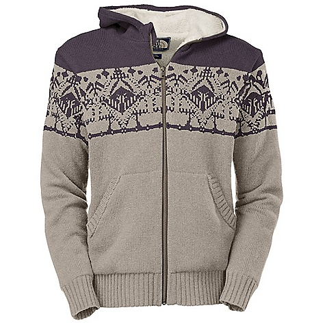 Free Shipping. The North Face Men's Selawik Full Zip Sweater DECENT FEATURES of The North Face Men's Selawik Full Zip Sweater Soft Sherpa-lined body and sleeves Kangaroo hand pockets 2x2 rib at hem and cuffs Faux leather patch at left arm The SPECS Average Weight: 33 oz / 945 g Center Back Length: 27.5in. Body: 7-gauge jersey stitch sweater knit-80% lamb's wool, 20% nylon Lining: 175 g/m2 100% polyester Sherpa fleece This product can only be shipped within the United States. Please don't hate us. - $149.00