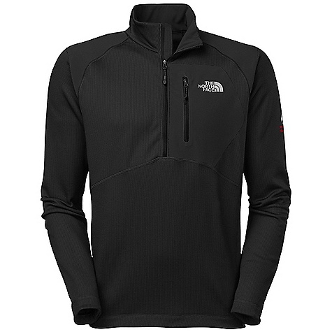 On Sale. Free Shipping. The North Face Men's Skiron Pullover DECENT FEATURES of The North Face Men's Skiron Pullover Smooth-face stretch fleece has a micro check brushed interior Flash Dry technology dramatically decreases drying time Welded chest pocket is generous and low profile Flat-locked seam construction eliminates hot spots when layering The SPECS Average Weight: 13 oz / 370 g Center Back Length: 28in. 60% polyester 35% polyester 5% elastane 268 g/m2 (7.77 oz/yd2) with 59% nylon 25% polyester 16% elastane 225 g/m2 (6.53 oz/yd2) with Flash Dry fiber This product can only be shipped within the United States. Please don't hate us. - $111.99