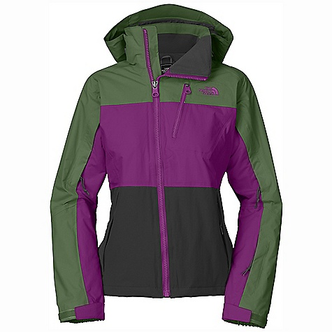 On Sale. Free Shipping. The North Face Women's Kizamm Jacket DECENT FEATURES of The North Face Women's Kizamm Jacket Adjustable fixed hood Pit-zip vents Napoleon zip pocket Handwarmer zip pockets Wrist accessory pocket with goggle cloth Internal media security pocket Snap-back powder skirt with elastic gripper Internal goggle pocket Adjustable hem system Hook-and-loop adjustable cuffs Imported The SPECS Average Weight: 33.51 oz / 950 g Center Back Length: 25.5in. Shell: HyVent 2L plain weave Lining: Taffeta Insulation: 100 g/80 g Heatseeker This product can only be shipped within the United States. Please don't hate us. - $153.99