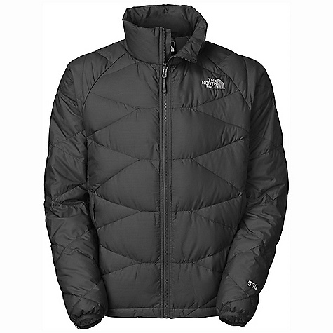 Free Shipping. The North Face Men's Mendoza Jacket DECENT FEATURES of The North Face Men's Mendoza Jacket Two secure zip hand pockets Bound cuffs Hem cinch-cord The SPECS Average Weight: 16.4 oz / 465 g Center Back Length: 28in. Body: 40D 65 g/m2 (1.885 oz/yd2) 53% recycled polyester, 47% polyester Insulation: 550 fill goose down This product can only be shipped within the United States. Please don't hate us. - $179.95