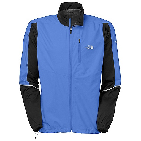 Camp and Hike On Sale. Free Shipping. The North Face Men's Stormy Trail Jacket DECENT FEATURES of The North Face Men's Stormy Trail Jacket Chest pocket Reflectivity on articulated cuffs Hem cinch Reflective drop-tail hem Stowable Imported The SPECS Average Weight: 8.5 oz Center Back Length: 27.5in. Body: 85 g/m2 100% nylon, 2.5-layer with Flash Dry laminate Panel: 90 g/m2 100% polyester, 2.5-layer with Flash Dry laminate This product can only be shipped within the United States. Please don't hate us. - $97.99