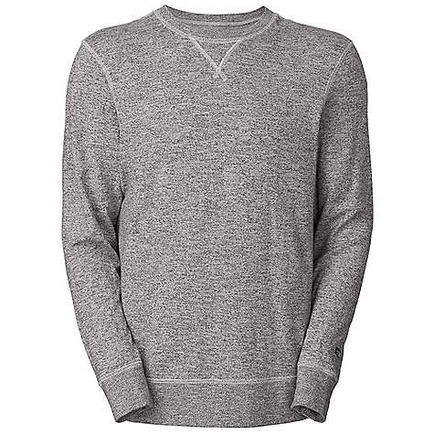 On Sale. Free Shipping. The North Face Men's L-S Copperwood Crew DECENT FEATURES of The North Face Men's Long Sleeve Copperwood Crew Triangle rib inset at neck Embroidered eyelet vents at underarms Contrast Cover stitch seams Self rib at cuffs and hem Logo woven label at sleeve opening The SPECS Average Weight: 14.1 oz / 400 g Center Back Length: 27.24in. Body: 240 g/m2 97% cotton, 3% polyester melange jersey Finish: Garment washed This product can only be shipped within the United States. Please don't hate us. - $37.99