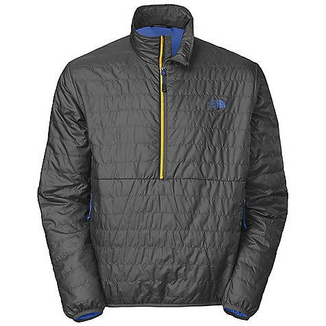 Free Shipping. The North Face Men's Blaze Micro 1-2 Zip Pullover DECENT FEATURES of The North Face Men's Blaze Micro 1/2 Zip Pullover Two securezip hand pockets Stows in hand pocket Bound cuffs Center front three-color Vislon zip closure Hem cinch-cord The SPECS Average Weight: 10.93 oz / 310 g Center Back Length: 27.5in. Body: 20D 40 g/m2 (1.16 oz/yd2) 100% recycled polyester Insulation: 60 g 100% polyester insulation with FlashDry This product can only be shipped within the United States. Please don't hate us. - $148.95