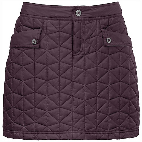 On Sale. Free Shipping. The North Face Women's Runaway Insulated Skirt DECENT FEATURES of The North Face Women's Runaway Insulated Skirt Lightweight quilted insulation Internal draw cord Two hand pockets Secure zip back pocket DWR finish The SPECS Average Weight: 9.17 oz / 260 g Length: 16in. Body: 40D 65 g/m2 (1.885 oz/yd2) 53% recycled polyester, 47% polyester taffeta Insulation: 100 g PrimaLoft Eco This product can only be shipped within the United States. Please don't hate us. - $40.99
