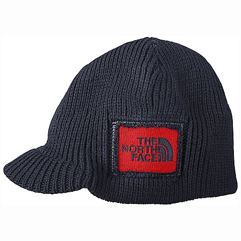 Entertainment On Sale. The North Face Boys' Sideways Beanie DECENT FEATURES of The North Face Boys' Sideways Beanie Distressed logo patch Brimmer beanie The SPECS Average Weight: 2.4 oz / 68 g 100% acrylic This product can only be shipped within the United States. Please don't hate us. - $13.99