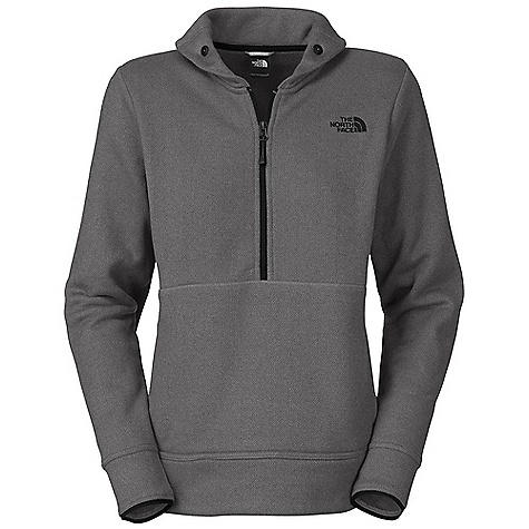 On Sale. Free Shipping. The North Face Women's Crescent Shawl 1-2 Zip DECENT FEATURES of The North Face Women's Crescent Shawl 1/2 Zip Jacquard patterned fleece Dries quickly to minimize heat loss Button-down stand-up shawl collar Reverse-coil half zip for ventilation Two-entry kangaroo hand pocket Binding on cuff The SPECS Average Weight: 10.58 oz / 300 g Center Back Length: 24.75in. 210 g/m2 (6.09 oz/yd2) 100% polyester This product can only be shipped within the United States. Please don't hate us. - $63.99