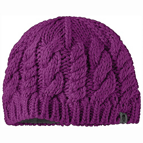 Entertainment On Sale. The North Face Girls' Cable Fish Beanie DECENT FEATURES of The North Face Girls' Cable Fish Beanie Cable knit Fleece ear band Wool performance Imported The SPECS Average Weight: 2.7 oz / 76.41 g Body: 70% acrylic, 20% wool 10% alpaca yarns; 100% polyester ear band Lining: micro-fleece earband This product can only be shipped within the United States. Please don't hate us. - $20.99