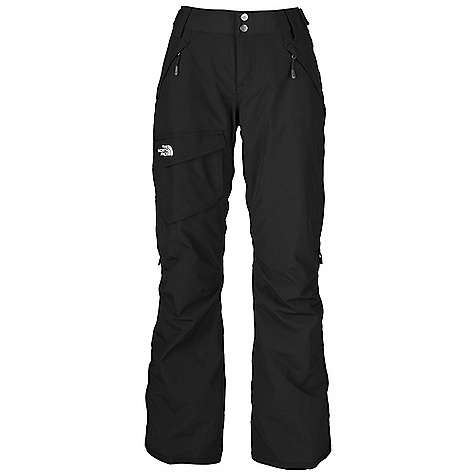 Free Shipping. The North Face Women's Freedom LRBC Pant DECENT FEATURES of The North Face Women's Freedom LRBC Pant Waterproof, breathable, fully seam sealed Adjustable waist tabs Handwarmer zip pockets Exterior thigh vents with mesh gussets Cargo pocket Low-rise cut Articulated knees StretchVent gaiter with gripper elastic Chimney Venting system Reinforced cuffs Pant-a-lock compatible The SPECS Average Weight: 24.69 oz / 700 g Inseam: 31.5in. Shell: 210D x 235D 189 g/m2 HyVent 2L-100% nylon faille Lining: Thermoliner 1 BPT This product can only be shipped within the United States. Please don't hate us. - $140.00