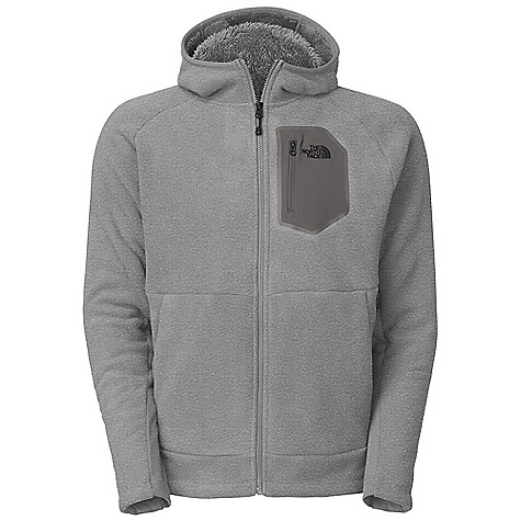 On Sale. Free Shipping. The North Face Men's Chimborazo 2.0 Hoodie DECENT FEATURES of The North Face Men's Chimborazo 2.0 Hoodie Two-layer bonded fleece has soft brushed face and soft Sherpa backing Wind permeability rating of 93 CFM (0 CFM is 100% windproof) Hem cinch with pop color drawcord Stretch panels at cuff Underarm gusset for increased mobility Secure zip pockets Infused chest pocket Pop color logos, chest pocket zips and pulls Media friendly pocket Secure zip hand pocket Imported The SPECS Average Weight: 23.63 oz / 670 g Center Back Length: 27.5in. 355 g/m2 100% polyester (bluesign approved fabric) This product can only be shipped within the United States. Please don't hate us. - $87.99