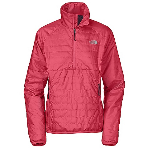 On Sale. Free Shipping. The North Face Women's Blaze Micro 1-2 Zip Pullover DECENT FEATURES of The North Face Women's Blaze Micro 1/2 Zip Pullover Center front three-color Vislon zip for easy on/off Packable into left hand pocket Two secure-zip hand pockets Elastic-bound cuff and The SPECS Average Weight: 24.69 oz / 700 g Center Back Length: 25in. Face: 360 g/m2 (12.69 oz/yd2) 100% polyester novelty high-pile raschel fleece Backer: 70D 63 g/m2 (2.22 oz/yd2) 100% nylon taffeta Insulation: 100 g Heatseeker This product can only be shipped within the United States. Please don't hate us. - $73.99