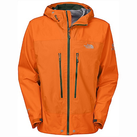 On Sale. Free Shipping. The North Face Men's Meru Gore Jacket DECENT FEATURES of The North Face Men's Meru Gore Jacket Extra breathable, waterproof, seam-taped Gore-Tex Active Shell Tough grip-zones on shoulder and hips keep pack in place Large, intuitive harness and pack-friendly chest pockets Huge internal mesh utility pockets hold tons of gear and water bottles Sleek, fixed, fully adjustable helmet-compatible hood swivels with head for a natural, unobstructed view Formed, fitted and structured brim on hood unheard of in such a lightweight design Imported The SPECS Average Weight: 15.9 oz / 450 g Center Back Length: 30in. 20D 62% nylon 38% polyester 94 g/m2 (2.73 oz/yd2) Gore-Tex Active Shell with 40D 68% nylon 32% polyester 120 g/m2 (3.48 oz/yd2) Gore-Tex Active Shell reinforcements This product can only be shipped within the United States. Please don't hate us. - $206.99