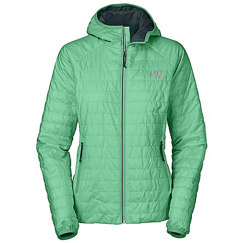 On Sale. Free Shipping. The North Face Women's Blaze Micro Hooded Jacket DECENT FEATURES of The North Face Women's Blaze Micro Hooded Jacket Attached bound hood Center front three-color Vislon zip closure Stowable in hand pocket Two secure-zip hand pockets Elastic-bound cuff The SPECS Average Weight: 10.58 oz / 300 g Center Back Length: 25.5in. Body: 100% nylon 22D micro ripstop Lining: 30D recycled DP taffeta Insulation: 60 g polyester insulation with FlashDry This product can only be shipped within the United States. Please don't hate us. - $128.99
