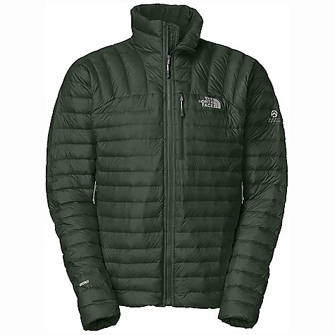 Ski Free Shipping. The North Face Men's Thunder Micro Jacket DECENT FEATURES of The North Face Men's Thunder Micro Jacket Backcountry skiing Water-resistant down treatment keeps moisture at bay 800 fill goose down offers superior warmth yet remains extremely compressible FlashDry panels on underarms enhance comfort Slimmer down chambers capture and maintain more warmth Zip handwarmer pockets are generous and easy to access Stuffs into its own handwarmer pocket The SPECS Average Weight: 13.93 oz / 395 g Fit: Active Body: 20D 40 g/m2 (1.18 oz/yd2) 100% nylon micro-ripstop Underarms: 225 g/m2 (6.64 oz/yd2) 85% polyester, 15% elastane double knit with Flashdry Insulation: 800 fill goose down This product can only be shipped within the United States. Please don't hate us. - $269.95