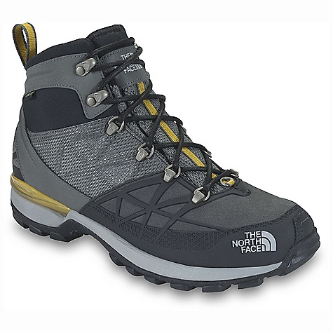 Free Shipping. The North Face Men's Iceflare Mid GTX DECENT FEATURES of The North Face Men's Iceflare Mid GTX Upper: Waterproof, PU-coated leather and ballistic mesh upper Injection-molded TPU mudguard Form-fitting Neoprene collar improves fit and comfort Medial and lateral X-Frame Roll Control stabilizer Gore-Tex Duratherm waterproof breathable membrane with 200 g Thinsulate throughout boot and additional 100 g PrimaLoft Eco insulation at toe and heel Mylar heat-trapping zones in the forefoot, tongue and underfoot Northotic Pro footbed Bottom: TPU and EVA cradle heel-stability and cushioning technology Lightweight, compression-molded EVA midsole Durable TNF Winter Grip rubber outsole IcePick temperature-sensitive lugs for increased winter traction The SPECS Last: TNF-001 Approx Weight: 1/2 pair: 1 lb 5 oz / 601 g, pair: 2 lbs 10 oz / 1202 g This product can only be shipped within the United States. Please don't hate us. - $159.95