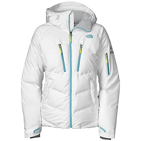 Snowboard Free Shipping. The North Face Women's Chaletta Down Jacket DECENT FEATURES of The North Face Women's Chaletta Down Jacket Water resistant, breathable Recco avalanche rescue reflector Adjustable, helmet-compatible fixed hood Polyurethane (PU) chest pockets VISLON CF zip Core venting Polyurethane (PU) bicep utility pocket with goggle cloth Internal Lycra comfort cuffs Internal media security pocket Internal utility pocket Powder skirt Pant-a-locks Adjustable cuff tabs The SPECS Average Weight: 35.45 oz / 1005 g Center Back Length: 26.5in. Body: 50D 83 g/m2-100% polyester 2L GORE WINDSTOPER plain weave Insulation: 700 fill down This product can only be shipped within the United States. Please don't hate us. - $399.00