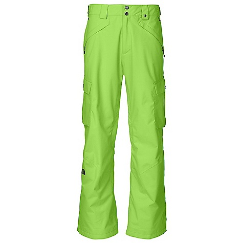 Snowboard On Sale. Free Shipping. The North Face Men's Fargo Cargo Pant DECENT FEATURES of The North Face Men's Fargo Cargo Pant Waterproof, breathable, fully seam sealed Recco avalanche rescue reflector Stretch Vent gaiter with gripper elastic and boot hook Inner thigh vents with mesh gussets Chimney Venting system Hand warmer zip pockets Flap cargo pockets with Lot Lift System Back pockets Clip-integration belt loops Adjustable waist tabs Cuff-zip gussets Imported The SPECS Average Weight: 31.75 oz / 900 g Inseam: regular: 31in., long: 33in. Shell: HyVent 2L proweave Insulation: Mesh and Thermoliner This product can only be shipped within the United States. Please don't hate us. - $117.99